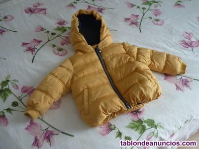 Abrigo niño 2-3 años con capucha