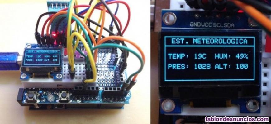 Kit Estación Meteorológica con Arduino