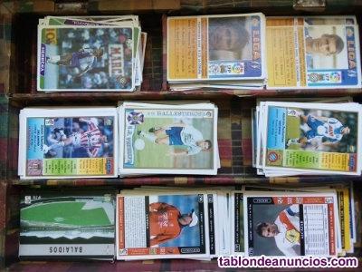 Cromos de futbol 97/98 hasta 2002