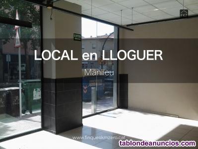 LOCAL en LLOGUER a MANLLEU