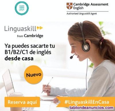 Cambridge Linguaskill Online B1 y B2 con examen desde casa