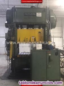 Troqueladora niagara 150 ton en venta