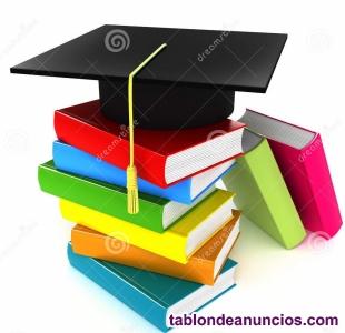 CLASES PARTICULARES: TODAS LAS ASIGNATURAS LETRAS BACHILLERATO Y PRUEBAS ACCESO