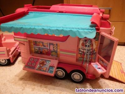 Remolque campero Barbie