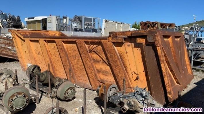 Caja de camion de 6m estilo bañera