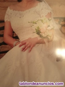Vendo vestido de novia. Excelente precio