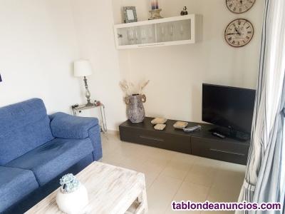 Apartamento Benidorm Gemelos 26 con piscina y aire acondicionado