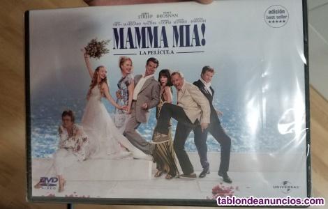 DVD pelicula Mamma Mia NUEVO con precinto