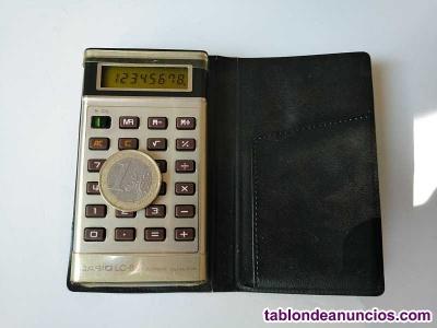 Calculadora casio lc-88 lc88 electronic calculator 1979 funcionando con funda ca
