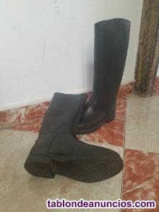 Vendo 1 par de botas de montar a caballo casi nuevas