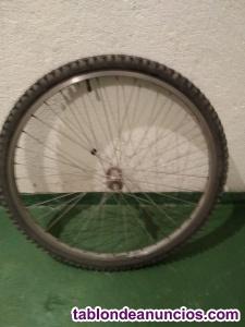 Vendo rueda delantera de bicicleta.