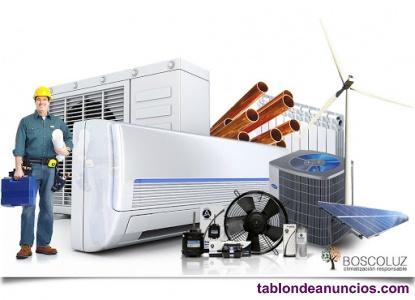 Instalador climatización