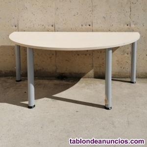 Mesa semicircumferencia 160cm