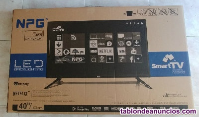 Smart tv 40 nuevo