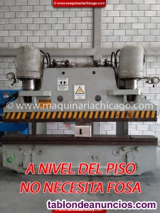 PRENSA HIDRAULICA PACIFIC 10' x 200 TON EN VENTA