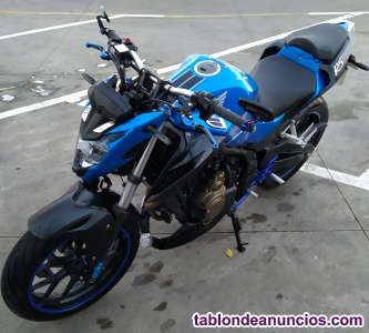 Moto honda hermosa