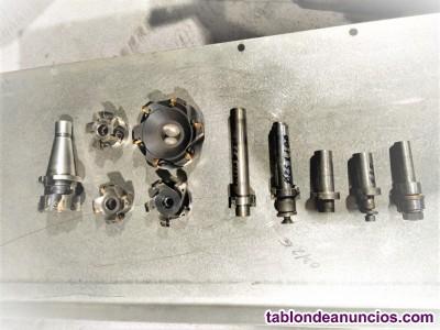 Vendo: 5-Platos de 4 y 6 placas MD, planear y escuadrar + placas MD