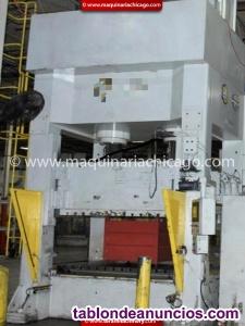 Prensa hidraulica shuterland 500 ton en venta