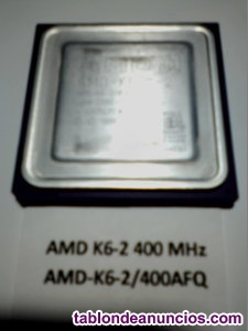 Procesador AMD K6-2 400 MHz