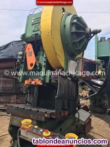 Troqueladora usi industries 75 ton en venta
