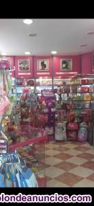 Venta de muebles de perfumeria y tienda de complementos