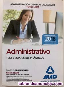 Libro Administrativo de la Administración General del Estado (Turno Libre)