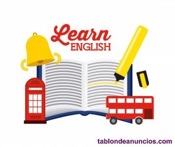 Ofrezco clases particulares de inglés (Infantil, Primaria, ESO, bachiller)