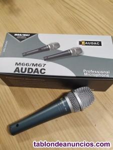 Micrófono Audac M-66 Nuevo