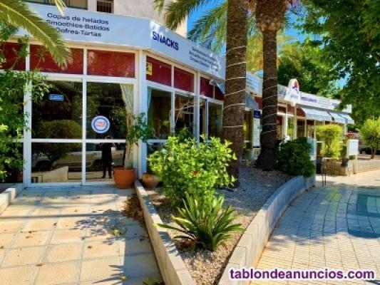 Bonito y funcional restaurante en albir