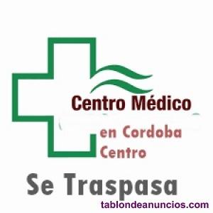 TRASPASO Centro Medico de prestigio+equipado Cordoba centro 20.000 €