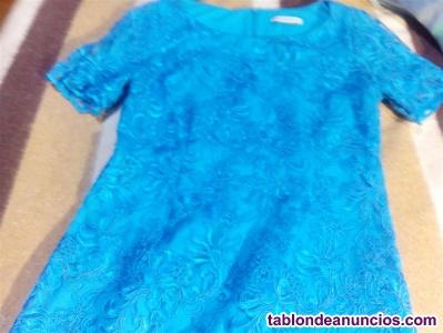Vendo vestido nuevo de encaje y ropa usada