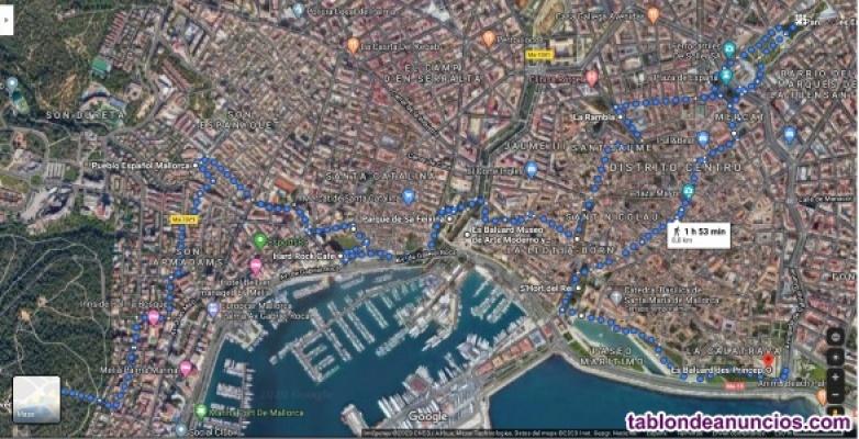 Walking tour across Palma de Mallorca