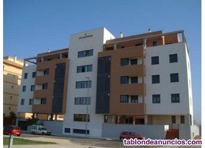 Se alquila piso-apartamento amueblado en Cáceres capital