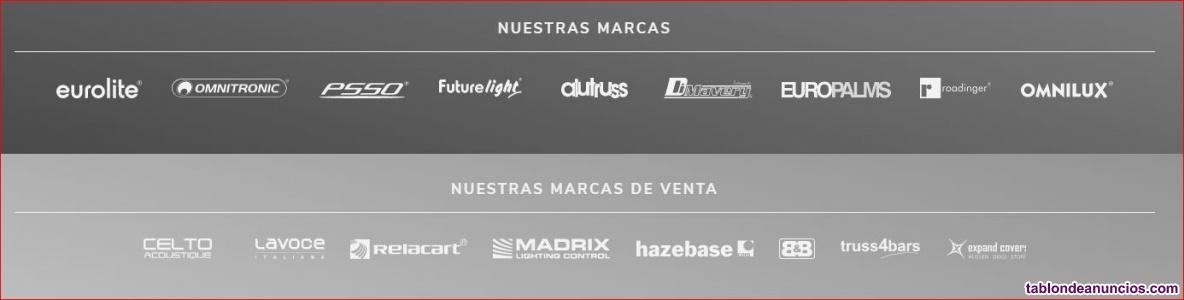 Catálogos 2020 de Astranik en Español EUROLITE - OMNITRONIC- FUTURELIGHT- PSSO-