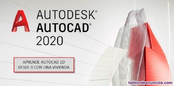 Curso/ clases online autocad 2020
