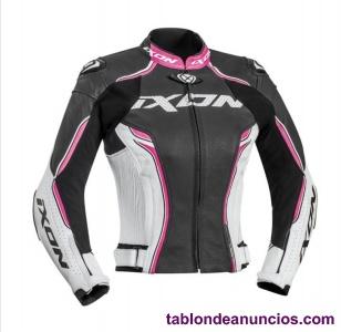 Chaqueta moto ixon mujer
