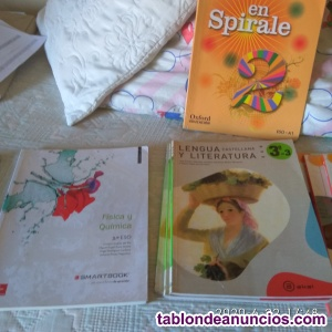 Vendo libros de 1,2,3,4 ESO, INSTITUTO MARÍA MOLINER