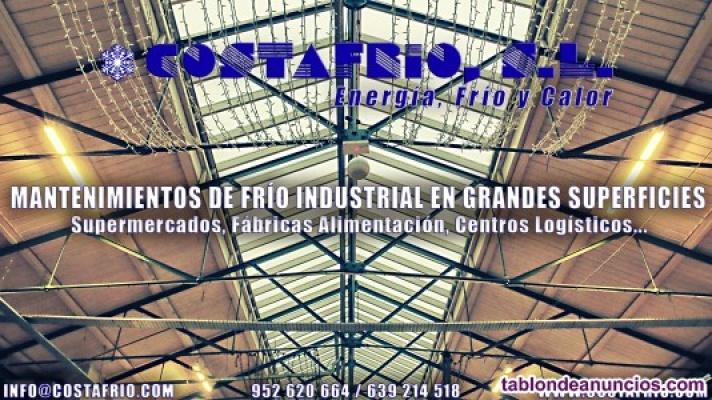 Mantenimiento frío industrial grandes superficies