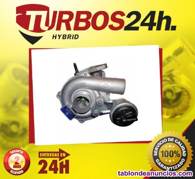 Turbos para 1.5 DCI 82cv