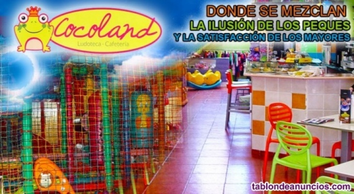 Traspaso Ludoteca Parque infantil.