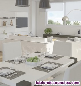 Preciosos apartamentos en construcción con materia