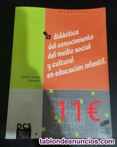 Didáctica del conocimiento del medio social y cultural en EI
