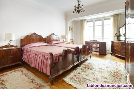 Dormitorio clásico años 50