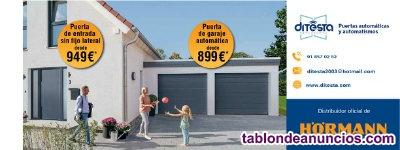 Puertas de garaje y entrada automáticas