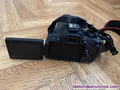 CANON EOS 700 D+ objetivo+ bolsa