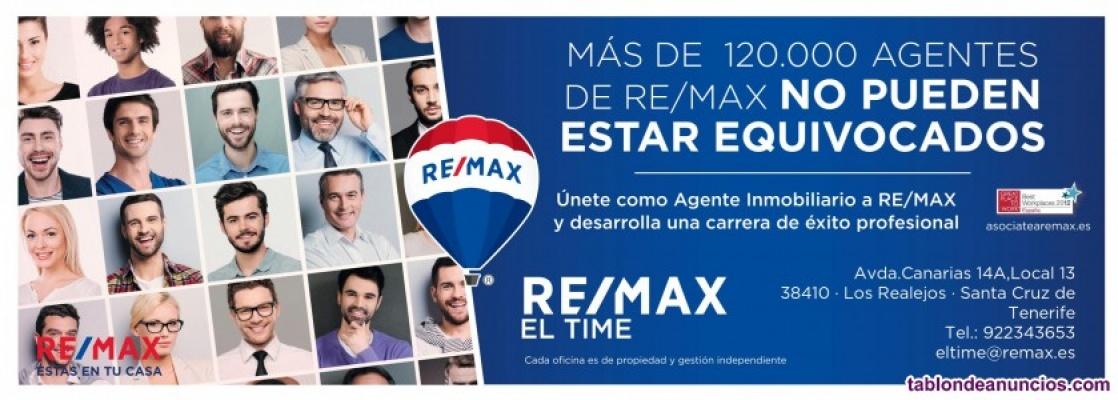 ¡re/max el time busca agentes inmobiliari@s en tenerife!
