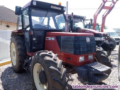 Tractor FIAT 82-84 DT con super cortas.