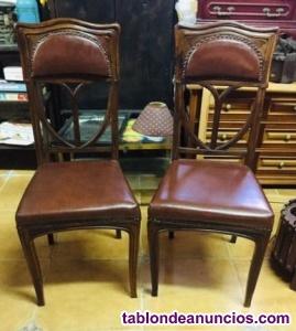 Clásicas sillas inglesas de despacho