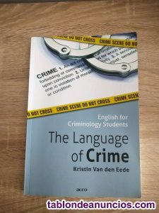 The Language of Crime: English for Criminology Students