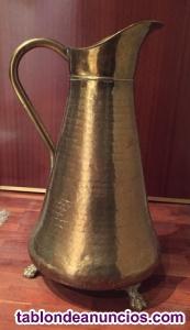Antiguo bastonero de latón